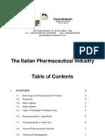 The Italian Pharmaceutical Industry