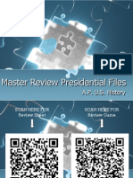 Master Review Presidents - 2012-2013 Washington to Monroe UPLOAD for PDF