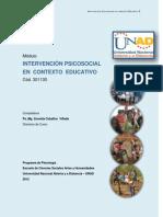 301130 MODULO Intervención Psicosocial en el contexto Educativo  2012-1