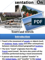 Creation of tours & Travel