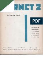 Carnet 2 - Février 1931, par Carlo Suarès