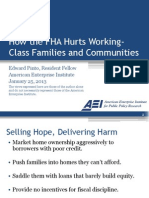 How the FHA Hurts Working-Class Families and Communities