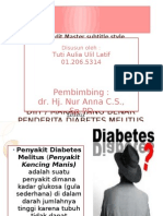 Penyuluhan-terapi Diet Makanan Pada Penderita DM