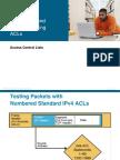 7. Access-List Configuration