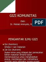GIZI KOMUNITAS
