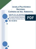 Eutrofizacion latinoamerica