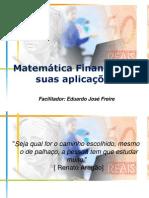 MATEMATICA FINANCEIRA CAPITALIZAÇÃO SIMPLES