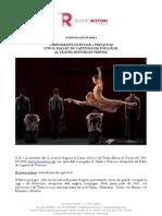 20-21 Dicembre Teatro Ristori Verona Ballet Du Capitol de Toulouse