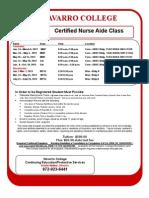 Certified Nurse Aide