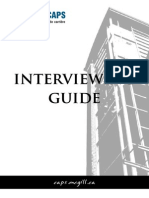 Interviewing Guide