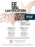 Certified Logistics Classes