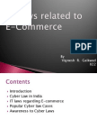 IT Laws Related to E-Commerce