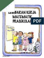 Lembaran Kerja Matematik Prasekolah