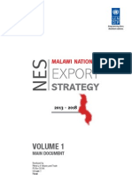 Malawi National Export Strategy Main Document