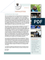 Georgetown College Sociology Department Newsletter 2012