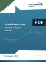 Bio-Plastics Markets  Preview Chapter
