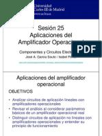 OCW-CCE S25 Aplicaciones Del Amplificador Operacional