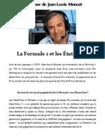 La F1 et les Etats-Unis par Jean-Louis Moncet