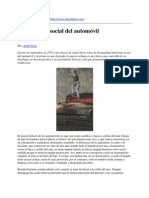 La ideología social del automóvil [por André Gorz]