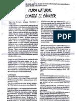 CURA NATURAL CONTRA EL CANCER