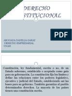 Presentación DERECHO CONSTITUCIONAL