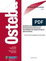 ABORDAJE INTEGRADO INTRA Y EXTRAHOSPITALARIO DE LOS TRASTORNOS DE CONDUCTA EN LA ADOLESCENCIA