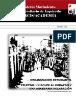 Boletín UAHC/ARCIS