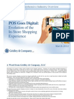 POS Goes Digital :Evolution of the in Store Shopping Experience