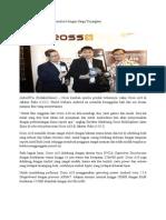 Cross A10 Ponsel Berbasis Android dengan Harga Terjangkau