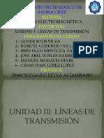 Exposicion Unidad III