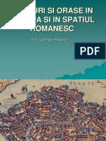 targuri si orase in spatiul romanesc
