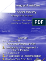 Burns Parish Social Ministry Moving Faith Into Action