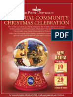 HPU Annual Community Christmas Celebration