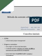 Tutorial Método da Corrente Crítica (CCPM)