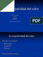 La expresividad del color