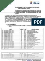 EDITAL 001-2012 - EDITAL DE PROCEDIMENTOS PARA ESCOLHA DE VAGA DO CONCURSO PÚBLICO EDITAL N°004- 2011 (1)