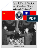 Chinese Civil War and The Rise of Modern China