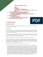 Los contratos de trabajo. Derecho Laboral
