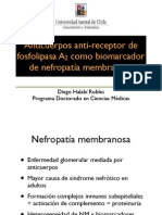 Anti- Receptor Fosfolipasa A2 y Nefropatía membranosa