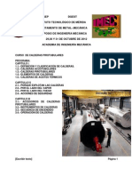Calderas Ingeniería mecanica