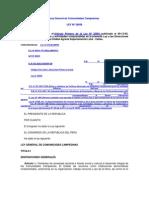 Ley General de Comunidades Campesinas
