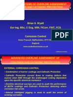 OVERLINE ASSESSMENT OF COATINGS AND CATHODIC PROTECTION CORROSION CONTROL