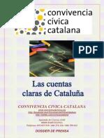 las cuentas claras de cataluña