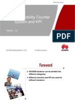 Huawei WCDMA Radio Network Mobility Counter and KPI