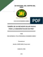 DISEÑO DE UN SECADOR SOLAR