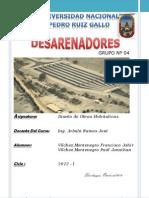 Word Desarenadores