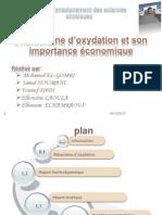 oxydation et son importance economique