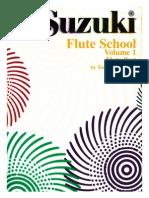 FLAUTA - MÉTODO - Suzuki Volume 01
