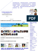 LIBRO DE RAZONAMIENTO MATEMATICO DE SEGUNDO GRADO DE PRIMARIA 2013