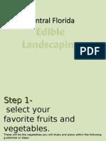 Trish`e Vista Edible Landscaping